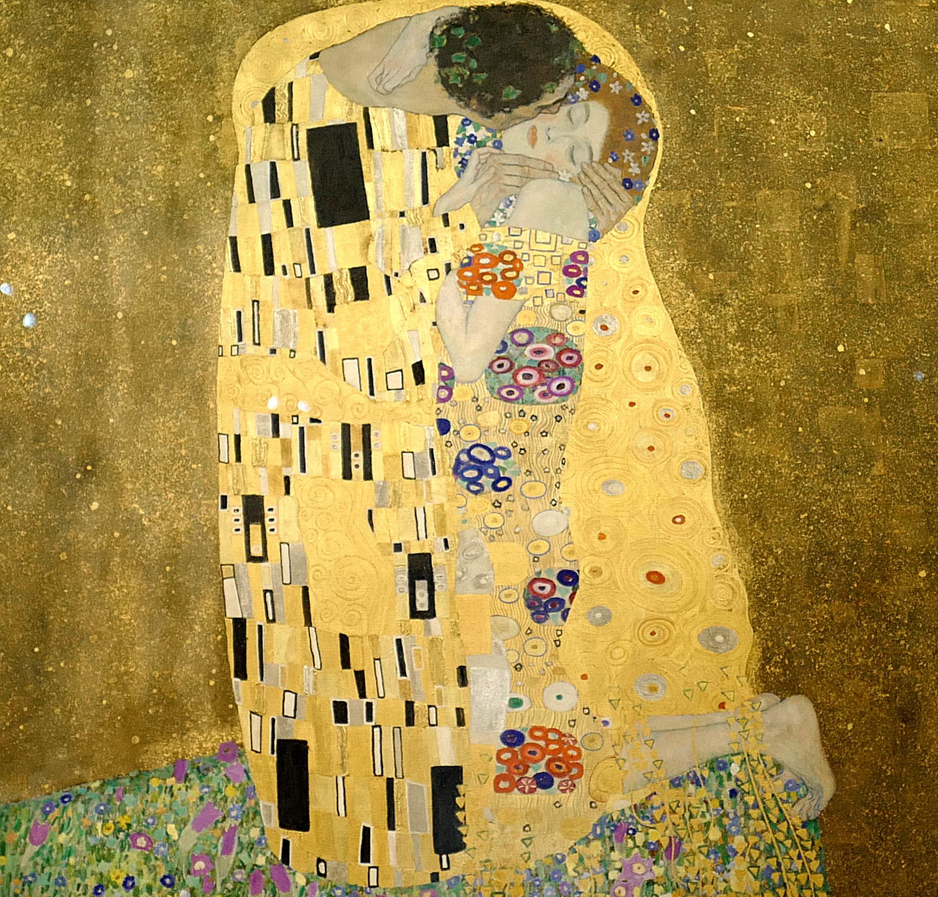"""Das Porträt """"Adele Bloch-Bauer I."""" (auch Goldene Adele genannt) aus dem Jahr 1907 gehört zu den bekanntesten Werken Klimts."""