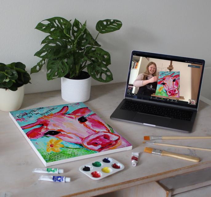 ArtMasters – Dein Online Malevent bringt Farbe in Deinen Alltag!